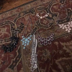 7 Necklaces. Various brands.